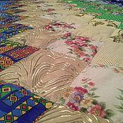Для дома и интерьера ручной работы. Ярмарка Мастеров - ручная работа Одеяло лоскутное Дачное идентичное. Handmade.