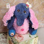 Куклы и игрушки ручной работы. Ярмарка Мастеров - ручная работа Слонёнок Люси 13 см.. Handmade.