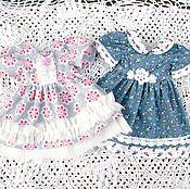 Куклы и игрушки ручной работы. Ярмарка Мастеров - ручная работа Одежда для кукол платья 650 р. Handmade.