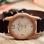 Украшения handmade. Livemaster - original item Wooden watches, women`s watches, beech, 01A3530BB. Handmade.