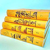 Винтаж handmade. Livemaster - original item Encyclopedia of children, different volumes 60-62 of the year.. Handmade.