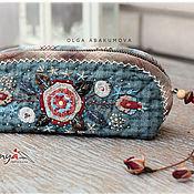 Сумки и аксессуары handmade. Livemaster - original item Cosmetic bag or pencil case