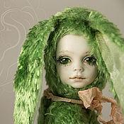 """Куклы и игрушки ручной работы. Ярмарка Мастеров - ручная работа Тедди-долл Зайка Рози """"В сердце живет весна"""". Handmade."""
