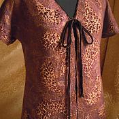 """Одежда ручной работы. Ярмарка Мастеров - ручная работа жилет валяный """"Ретро"""". Handmade."""