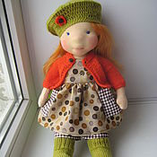 """Куклы и игрушки ручной работы. Ярмарка Мастеров - ручная работа Вальдорфская кукла """"Люся"""". Handmade."""