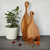 Посуда handmade. Livemaster - original item Set of cutting boards made of oak