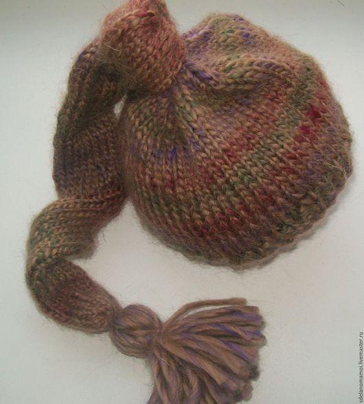 """Для новорожденных, ручной работы. Ярмарка Мастеров - ручная работа. Купить шапочка для фотосессии """"Мультиколор"""". Handmade. Комбинированный, шапочка для фотосессий"""