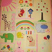 Для дома и интерьера ручной работы. Ярмарка Мастеров - ручная работа Одеялко для малыша.. Handmade.