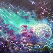 Картины и панно handmade. Livemaster - original item Oil painting. Towards the light. Handmade.
