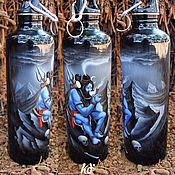 """Подарки к праздникам ручной работы. Ярмарка Мастеров - ручная работа Фляга для воды """"Бом Болинат"""". Handmade."""