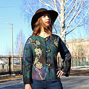 Одежда handmade. Livemaster - original item Jacket felted