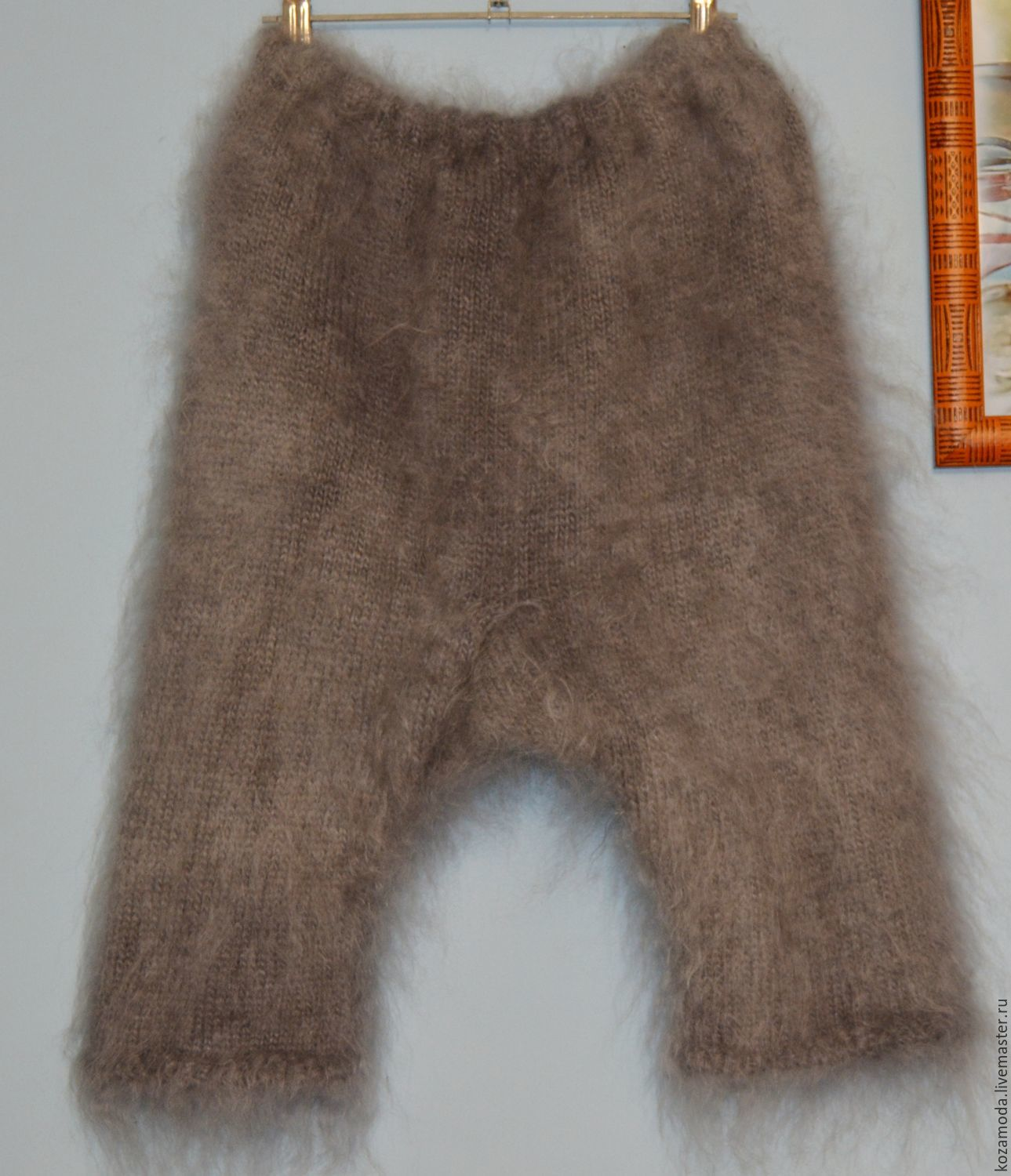 Shorts knickers down knitted very warm large size, Shorts, Urjupinsk,  Фото №1