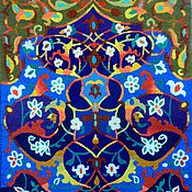 Картины и панно handmade. Livemaster - original item Embroidery .Tales Of The Arabian Nights .. Handmade.