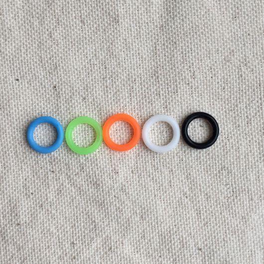 Для украшений ручной работы. Ярмарка Мастеров - ручная работа. Купить Силиконовые кольца 12мм. Handmade. Регализ, регализ испания