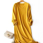 Одежда handmade. Livemaster - original item Dress cashmere. Handmade.
