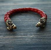 Украшения handmade. Livemaster - original item Bracelet with rams. Handmade.