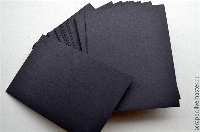 Плотная бумага а4 для открыток
