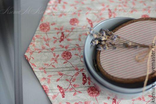 """Кухня ручной работы. Ярмарка Мастеров - ручная работа. Купить Комплект для стола""""Птичьи трели"""". Handmade. Салфетка, американский хлопок"""