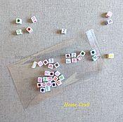 Материалы для творчества ручной работы. Ярмарка Мастеров - ручная работа Пакетики 8х12+3 см прозрачные с липким краем. Handmade.