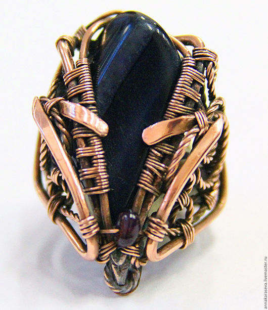 Кольца ручной работы. Ярмарка Мастеров - ручная работа. Купить перстень ярла. Handmade. Перстень, медь, ювелирное изделие, комбинированный