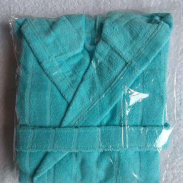 Одежда ручной работы. Ярмарка Мастеров - ручная работа Халатик на 10-11лет Велюр-махра. Handmade.