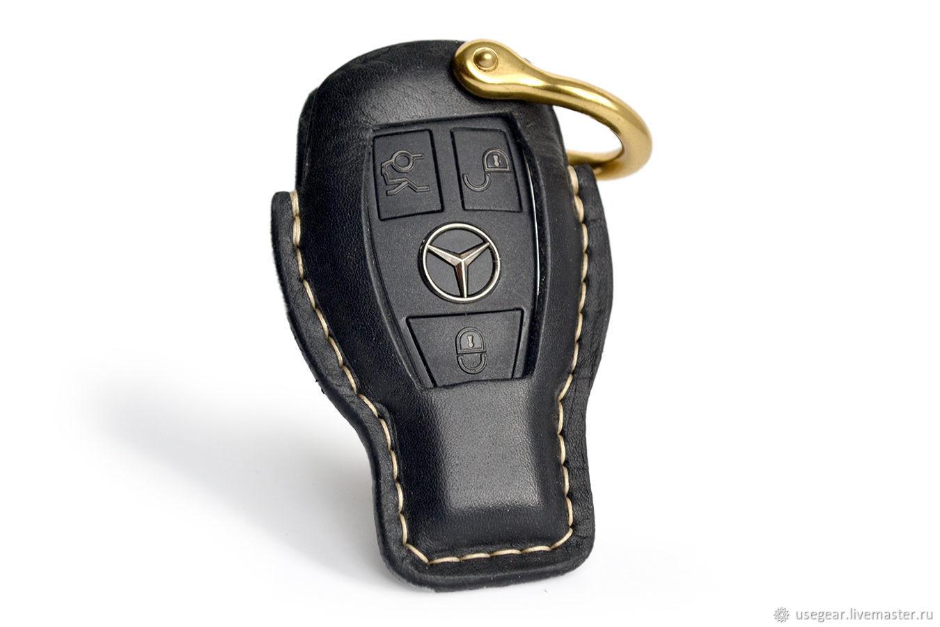 Чехол Skin для ключа Mercedes, Ключницы, Москва,  Фото №1