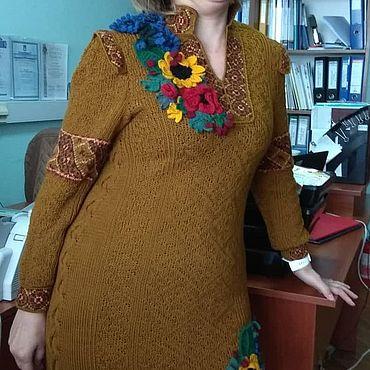 Одежда ручной работы. Ярмарка Мастеров - ручная работа Почти вышиванка. Handmade.