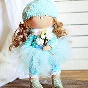 Куклы и игрушки ручной работы. Ярмарка Мастеров - ручная работа Текстильная интерьерная кукла. Handmade.