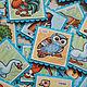 """""""Птицы"""" - парные карточки для развития памяти. Карточные игры. 'Маленький Умка' (Юлия). Ярмарка Мастеров.  Фото №6"""