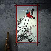 Для дома и интерьера ручной работы. Ярмарка Мастеров - ручная работа Окно в сад. Handmade.