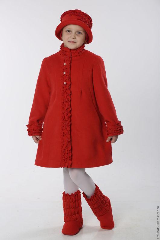 Одежда для девочек, ручной работы. Ярмарка Мастеров - ручная работа. Купить Пальто для девочки Николь. Handmade. Пальто, пальто для девочки