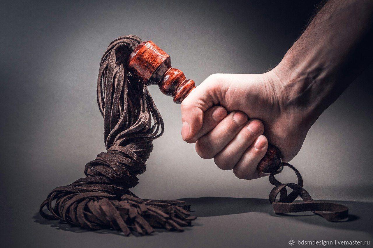 Плетка кожаная флоггер 100 хвостов, Плетка, Пермь,  Фото №1