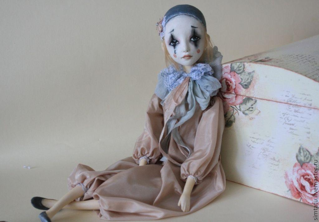 Голова и шея куклы из полимерной глины своими руками мастер класс