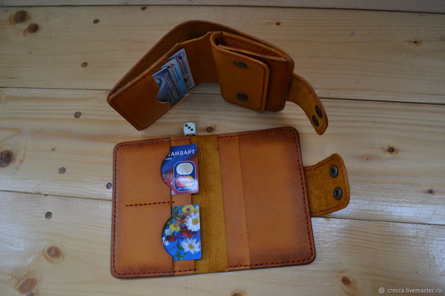Passport cover and wallet. kit, Wallets, Moscow,  Фото №1