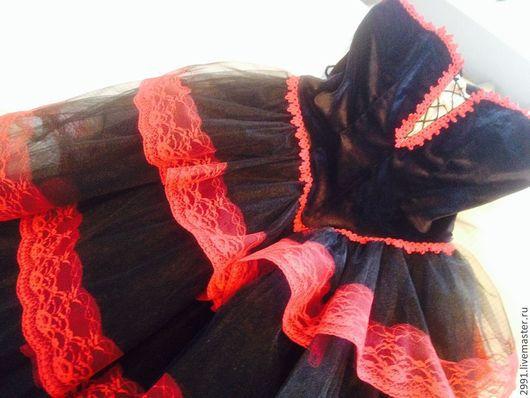 """Танцевальные костюмы ручной работы. Ярмарка Мастеров - ручная работа. Купить Балетное платье """"Китри"""". Handmade. Черный, танцевальное платье"""