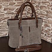 Сумки и аксессуары handmade. Livemaster - original item Model 1032 Bag women`s leather tote Bag made of genuine leather. Handmade.
