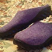 Обувь ручной работы. Ярмарка Мастеров - ручная работа Валяные сабо для дачи. Handmade.