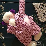 """Куклы и игрушки ручной работы. Ярмарка Мастеров - ручная работа Тильда """"Сонный Тяпочка"""". Handmade."""