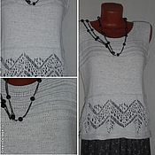 Tops handmade. Livemaster - original item Linen top. Handmade.