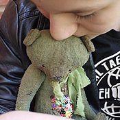 Куклы и игрушки ручной работы. Ярмарка Мастеров - ручная работа весенний мишка. Handmade.