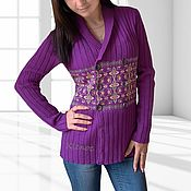 Одежда handmade. Livemaster - original item jacket knitted marseille