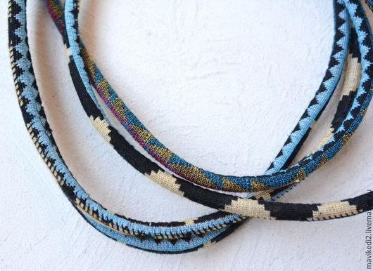 Для украшений ручной работы. Ярмарка Мастеров - ручная работа. Купить шнур для регализ плетеный/  цена за 10 см. Handmade.