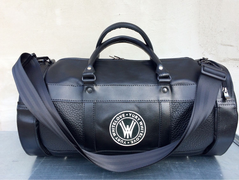 Спортивные сумки ручной работы. Ярмарка Мастеров - ручная работа. Купить Кожаная  сумка