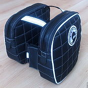 Сумки и аксессуары handmade. Livemaster - original item Bag on the handlebars of the snowmobile. Handmade.