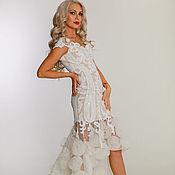 Свадебный салон handmade. Livemaster - original item White dress-transformer. Handmade.