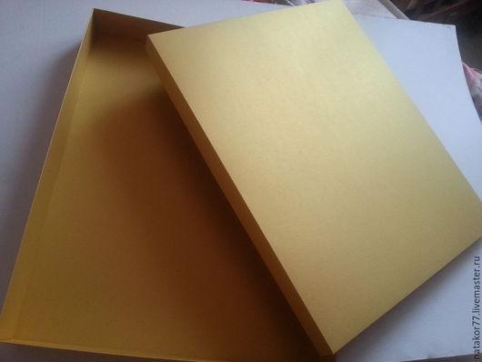 Персональные подарки ручной работы. Ярмарка Мастеров - ручная работа. Купить Коробка для картин. Handmade. Золотой, коробочка для подарка, упаковка