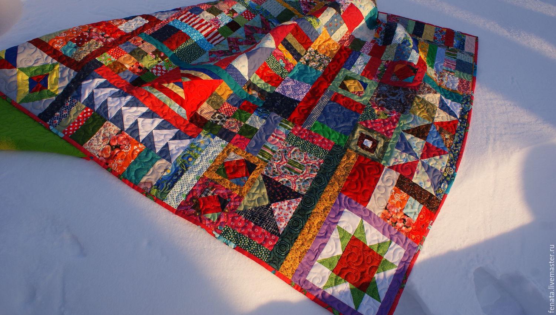 Лоскутное одеяло своими руками купить