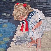 """Картины и панно ручной работы. Ярмарка Мастеров - ручная работа Вышивка крестом """"Время чуда"""". Handmade."""