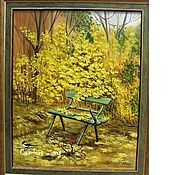 Картины и панно handmade. Livemaster - original item Oil painting autumn