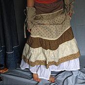 Одежда ручной работы. Ярмарка Мастеров - ручная работа Вкусные кофейные юбки. Handmade.